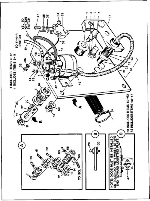 4_1989-1991 Electric Accelerator Switch Assembly -First Used for Model Year 1990