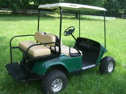 EZ GO Golf Cart 2 Seater