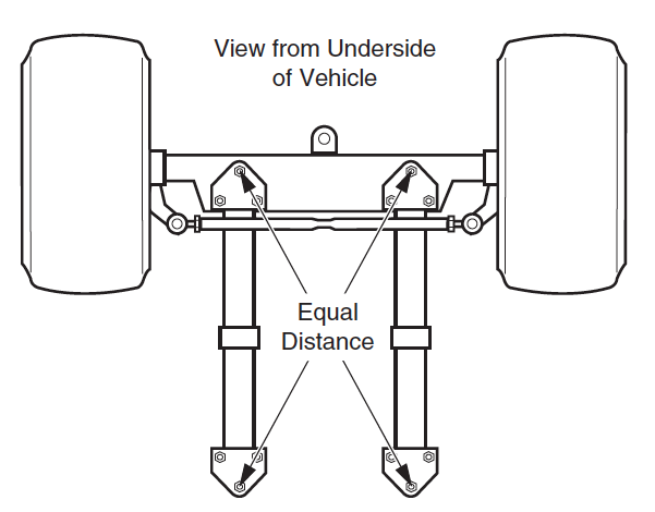 Front Axle Alignment