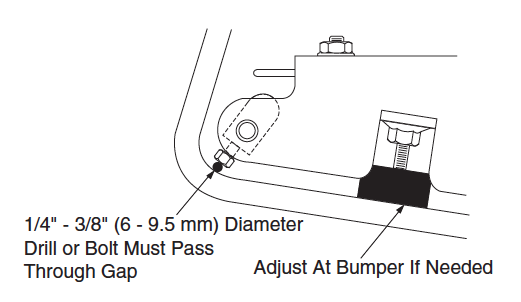 Brake Pedal Bumper Inspection
